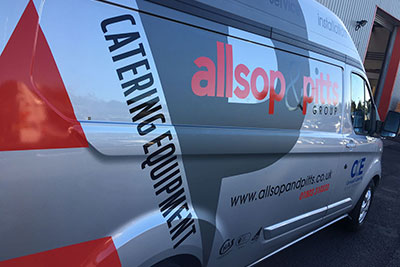 Allsop and pitts van image